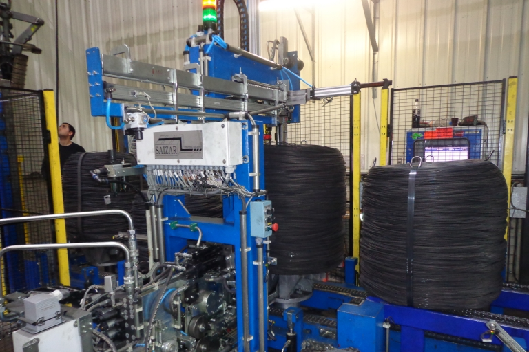 Automatic Strapping Line for wire coils