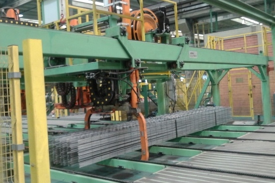Automatic Strapping Line for mesh sheet batches